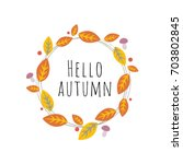 Vector Image Of Autumn Theme....