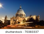 St. Paul S Cathedral. London At ...