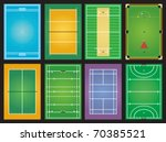 sports grounds | Shutterstock .eps vector #70385521