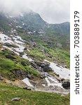 mountain landscape of the high...   Shutterstock . vector #703889179