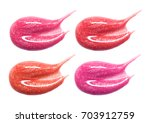 set of different lip glosses...