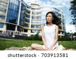 people  lifestyle  rest ... | Shutterstock . vector #703913581
