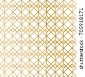 art deco pattern background.... | Shutterstock .eps vector #703918171