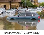 houston  texas   august 27 ... | Shutterstock . vector #703954339