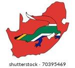 crocodile south africa   Shutterstock . vector #70395469