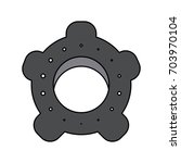 single gear icon image  | Shutterstock .eps vector #703970104