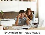 people  relationships  debts ... | Shutterstock . vector #703970371