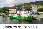 bergen  norway   27 august ... | Shutterstock . vector #703970647