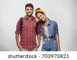 people  relationships  leisure  ... | Shutterstock . vector #703970821