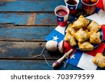 chilean independence day... | Shutterstock . vector #703979599