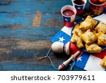 chilean independence day... | Shutterstock . vector #703979611