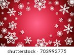 merry christmas and happy new...   Shutterstock .eps vector #703992775