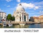 basilica santa maria della... | Shutterstock . vector #704017369