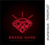 diamond red chromium metallic...