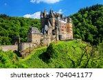 eltz castle in rhineland... | Shutterstock . vector #704041177