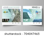 business templates for square... | Shutterstock .eps vector #704047465