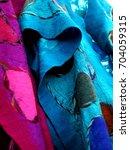 handmade felt and silk... | Shutterstock . vector #704059315