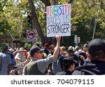 berkeley  ca   august 27  2017  ... | Shutterstock . vector #704079115