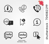 info icon | Shutterstock .eps vector #704082199