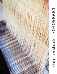 The Traditional Weaving Machin...
