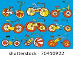 bicycle | Shutterstock .eps vector #70410922