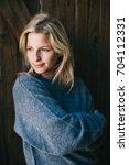 female profile picture.... | Shutterstock . vector #704112331