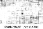 grunge halftone black and white.... | Shutterstock . vector #704116501