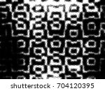 grunge halftone black and white.... | Shutterstock . vector #704120395