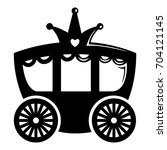 Carriage Icon. Simple...