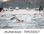 castro urdiales  spain   august ...   Shutterstock . vector #704132317