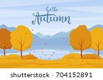 Vector Illustration  Autumn...