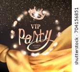 vip party background with... | Shutterstock .eps vector #704156851