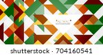 triangle pattern design... | Shutterstock .eps vector #704160541
