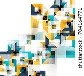 modern square geometric pattern ... | Shutterstock .eps vector #704164771