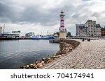 malmo  a city in sweden  a... | Shutterstock . vector #704174941