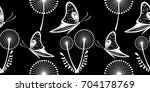 seamless pattern with... | Shutterstock . vector #704178769