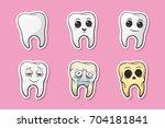 vector illustration. human... | Shutterstock .eps vector #704181841