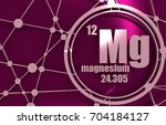magnesium chemical element.... | Shutterstock . vector #704184127