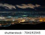 doi suthep chiangmai night view ...   Shutterstock . vector #704192545