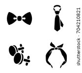 accessories vector icons   Shutterstock .eps vector #704210821