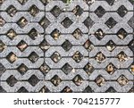 eco friendly green paving  ... | Shutterstock . vector #704215777