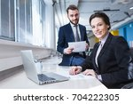 business people. | Shutterstock . vector #704222305