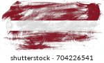latvia flag grunge background.... | Shutterstock . vector #704226541