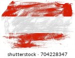 austria flag grunge background. ... | Shutterstock . vector #704228347