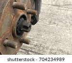 side view of disc break...   Shutterstock . vector #704234989