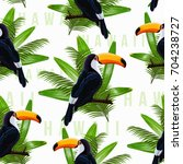 vector seamless pattern with...   Shutterstock .eps vector #704238727