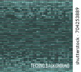 abstract green technology... | Shutterstock .eps vector #704253889