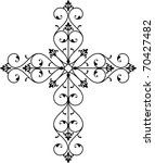 cross design | Shutterstock .eps vector #70427482