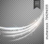 transparent light effect with... | Shutterstock .eps vector #704296555