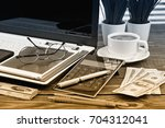 business accounting | Shutterstock . vector #704312041